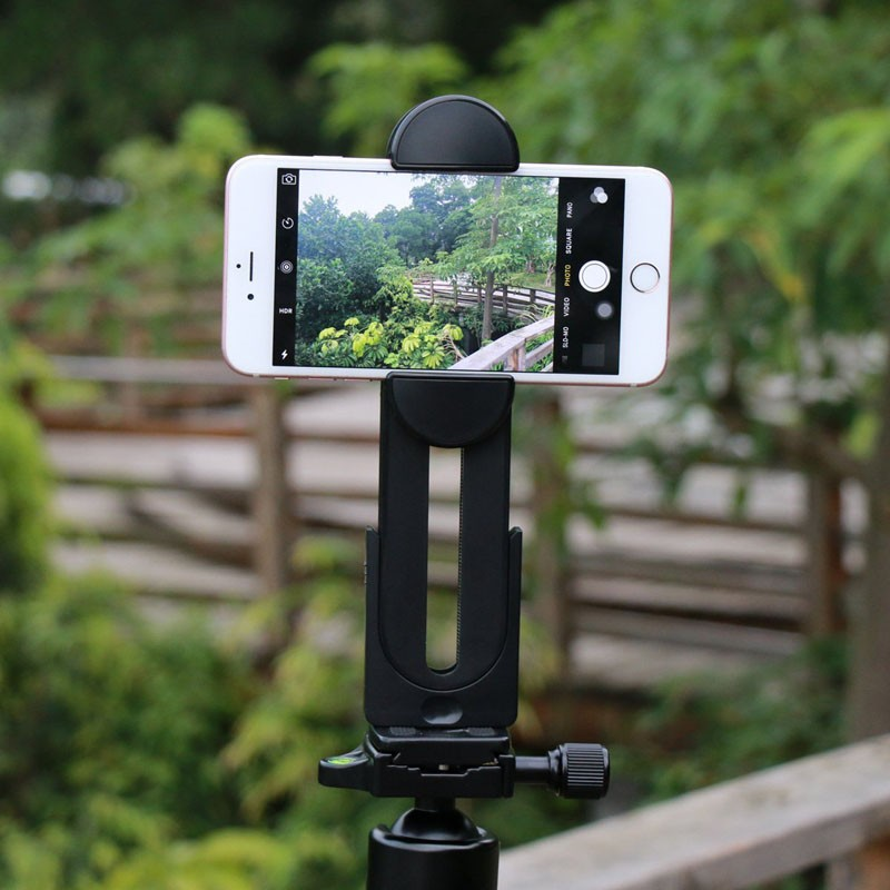 "Factory Supply New Universal Cell Phone Tablet PC Clip Mount Tripod Adapter for iPad Pro 12.9"" iPad air 2 iPad mini iPhone 6s 8"