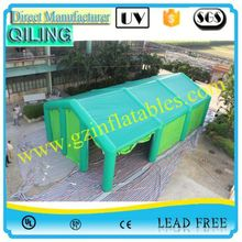 Qi Ling manufacturer wow pneumatic inflatables tent factory