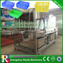 Industrial Automatic Crate Basket washer machine/pallet washer/ tray washer made in China