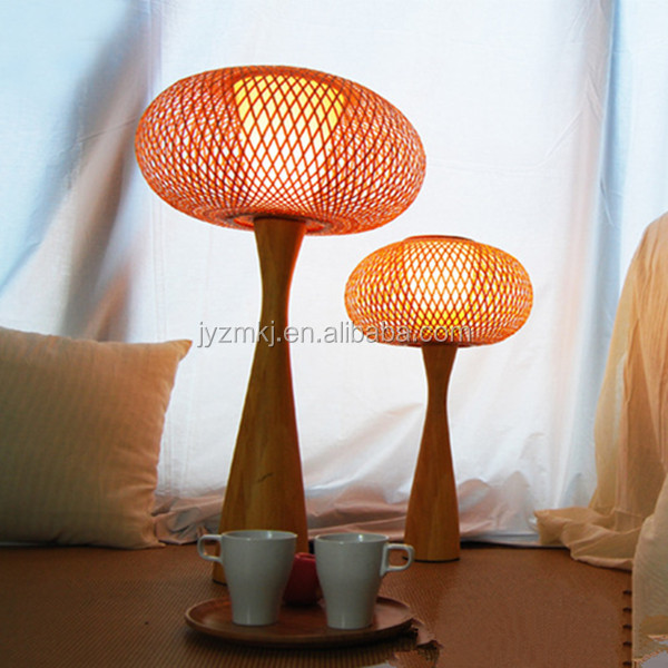 good quality fashion bamboo table lamp