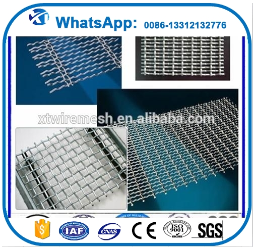 Mesh 3x3 304 stainless steel crimped wire mesh