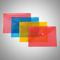 Custom EVA PVC vinyl clear plastic envelopes file folder