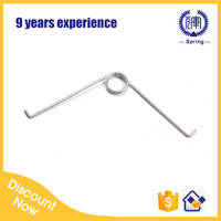 zinc plated button spring