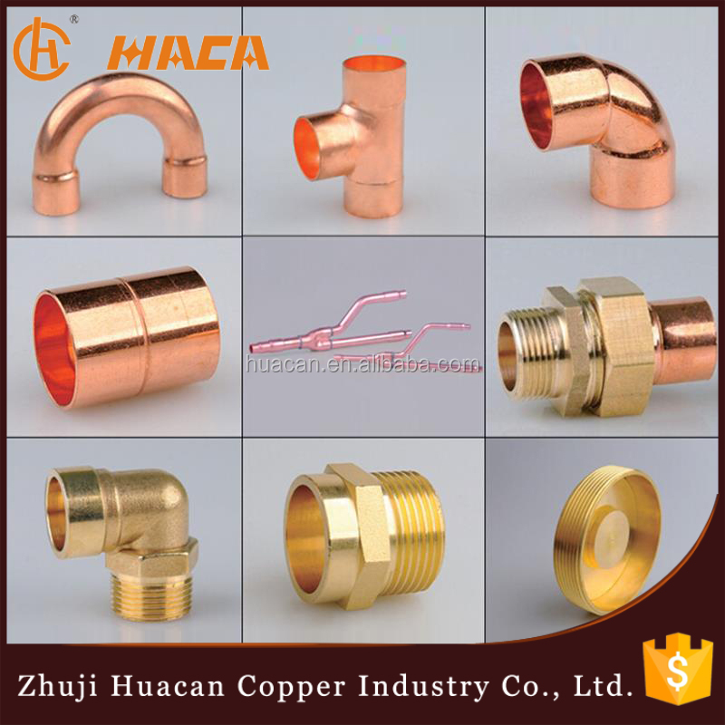 Copper Tee Elbow Pipe Fittings Copper Return Bend Pipe Fitting