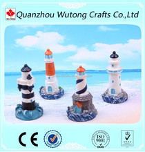 wholesale polyresin lighthouse model for Tourist souvenirs