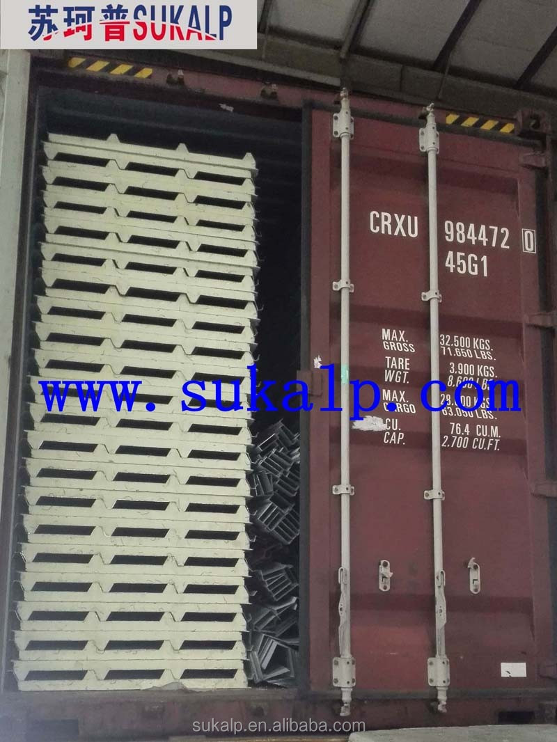 PU Metal Sandwich panels