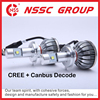 CE certification car auto accessories CREE LED bulbs to replace xenon hid headlamp