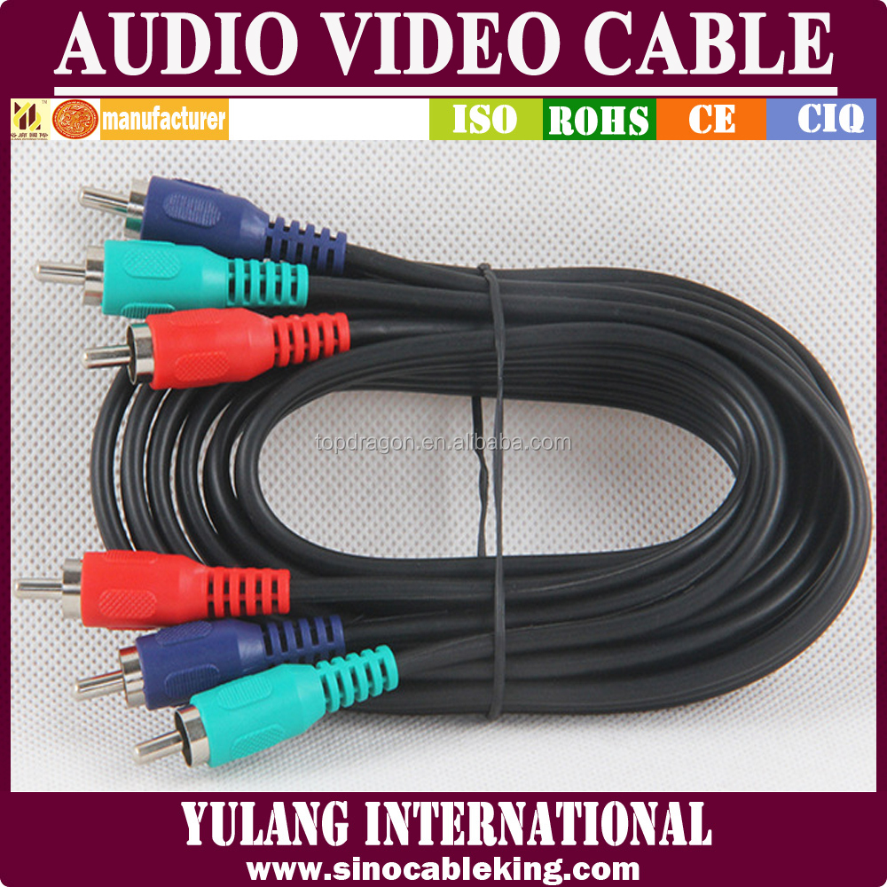 RCA RGB YULANG Component Cable Composite Cable DVD LCD Cable