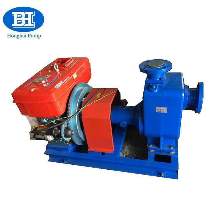 Botou Honghai CYZ Series self-priming centrifugal water pump diesel engine pump industrial pump