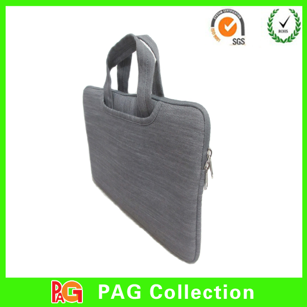China DongGuan Factory Jeans soft Denim Cloth Sleeve Pouch Bag Case bag for ipad 2/3