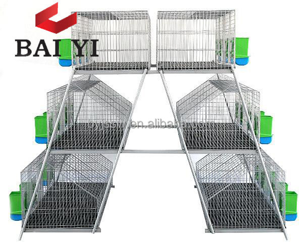 Used Rabbit Breeding Cages for Sale