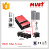 HOT SALE10000W True Sine Wave DC-AC Inverter with Solar Charger dc to ac inverter
