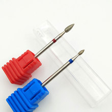 Diamond Nail Drill Bit Rotate Burr Milling Cutter Bits For Manicure Electric Nail Drill