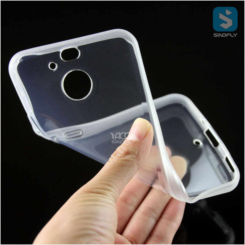 2016 Slim Transparent Clear TPU Case for HTC Bolt 10 Evo