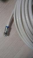 RG6/U quad shield 18 AWG 2.4 GHz CATV coaxial cable