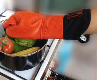 Silicone Oven Mitt/Hand Guard Pot Holder