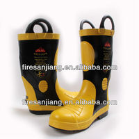 Fireproof Safety Protective Shoes Boots With Steel Toe Cap And MidSole