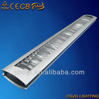CE CB SAA grid fluorescent ceiling light fixture with parabolic reflector,led ceiling light