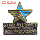 according to customer needs Customized metal star badge