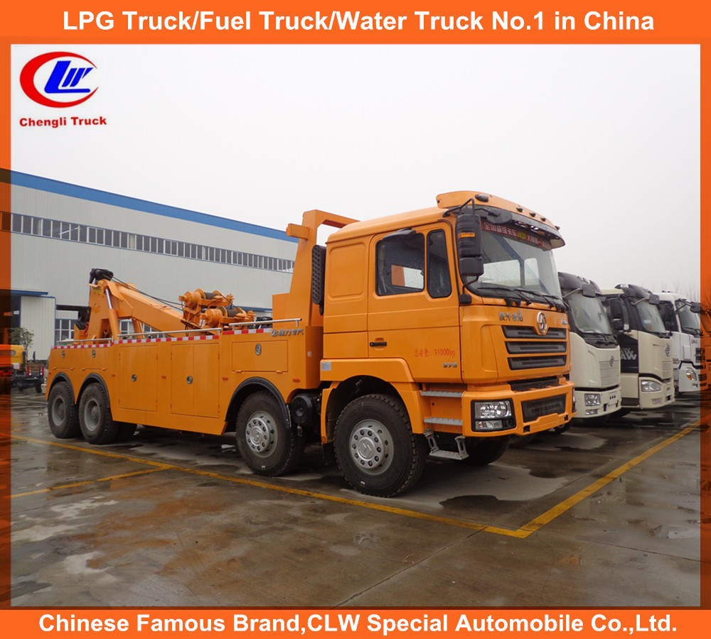 China trucks shacman trucks Heavy duty 50ton recovery tow truck for sale