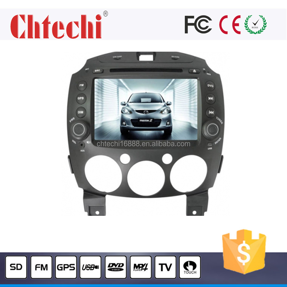 special car dvd player / car radio for MAZDA 2 with GPS