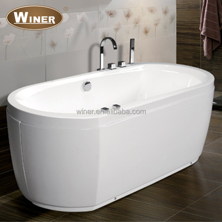 Indoor mini acrylic whirlpool bathtub free standing bath tub prices for adults
