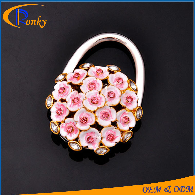 High quality sample of wedding souvenirs table purse hook bouquet bag hanger