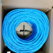 Made In China Network Cable 1000FT Bulk 4 Pair UTP Cat6 Network Cable Copper Lan Network Cat 6