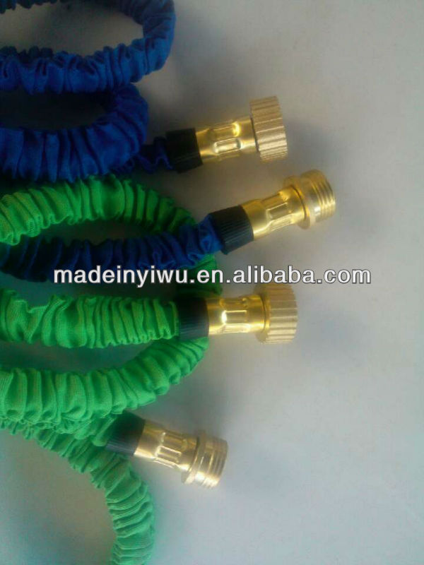 Garden hose with copper head , Flexiable hose with copper head , expandable hose LJ-8277