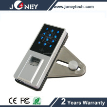 Touch screen Smart card fingerprint lock for glass door