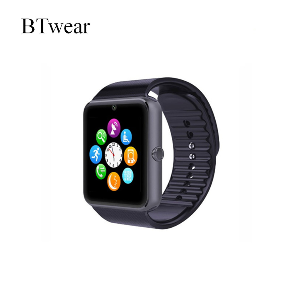 BTwear Low Price GT08 Bluetooth Call Browser Function Wrist Watch DZ09 Smart Watch Phone