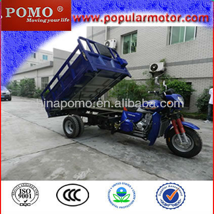 Hot Selling Popular Petrol 2013 New Cargo Cheap Three Wheel 250CC Trimoto