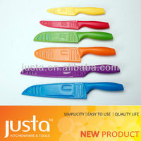 Multi-purpose fruit and vegetable carving knife tools set