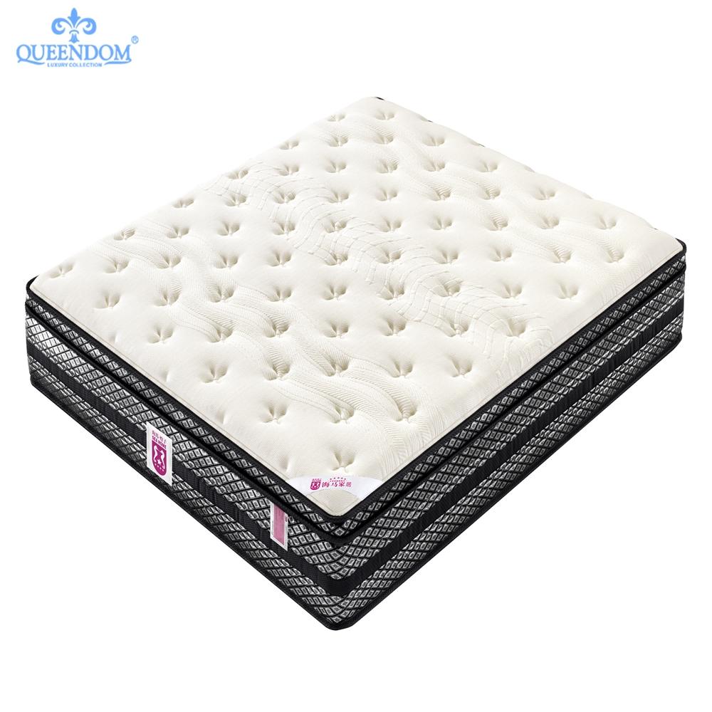 Multifunctional marriott hotel soft bed gel infused memory foam innerspring mattress - Jozy Mattress | Jozy.net
