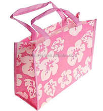 2017 new design flower shopping bag