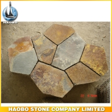 Random Flagstone Colorful Slate Crazy Stone Paving