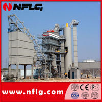 China low cost mobile asphalt batch mix plant with new design