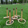 wood ring toss game for child,wood ring toss games