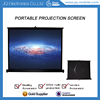 "40"" mini portable projector screen for outdoor movie projection screen equipment"