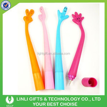 Fashionable Designed Soft Rubber Bendable Ball Pen,GEL Pen,School Pen