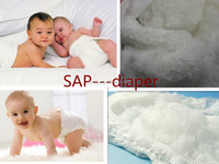 low price export grade Super Absorbent Polymer (SAP) used for baby diaper