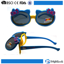 Wholesale Cute Soft Material Customized UV400 Protective Polarized Lens Kids Sunglasses