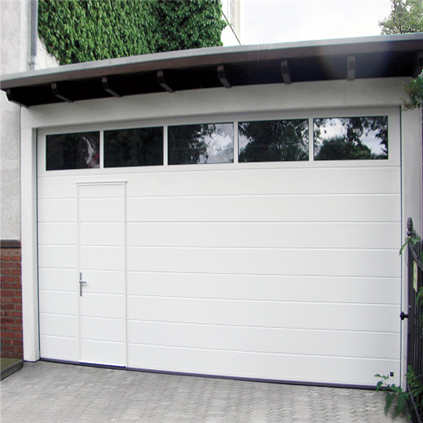 Cheap Aluminum Automatic Insulated PU Panels Garage Door