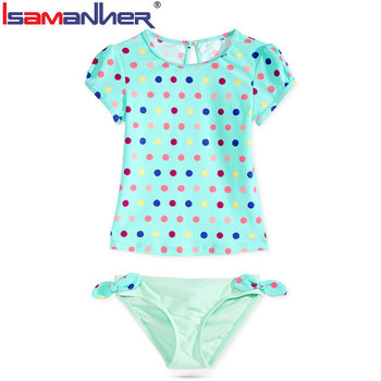 Comfortable junior children girls swimwear manufacturer