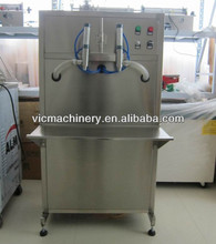 2 heads semi automatic liquid filling machine with low cost