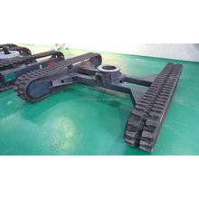 Free Shipping manufacturer customed Rubber Crawler Track