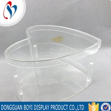 Customized Display Stand Square Transparent Clear Acrylic Flowers Box