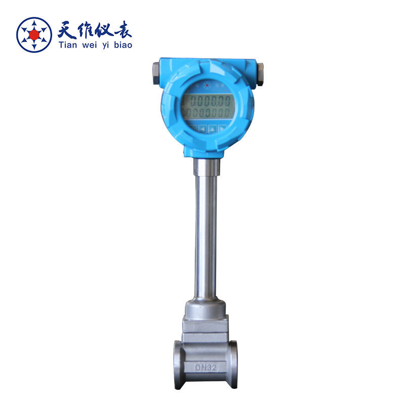 intelligent argon gas flow meter with stainless steel material