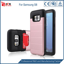 Factory price tpu pc material bumper case for samsung galaxy s8