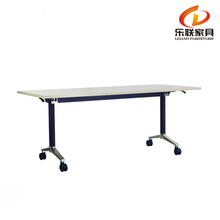 C99-18 latest high end furniture aluminium legs modular design folding office training table